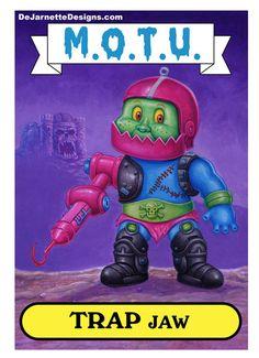 Trapjaw: Garbage Pail Kid 2 by DeJarnette.deviantart.com on @deviantART