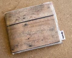 Men's Wallet  -  Woodgrain