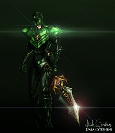 Dark Power Rangers Redesign Fan Art http://geekxgirls.com/article.php?ID=4309