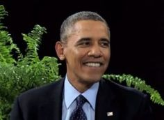 "Watch Obama do the Classic ""Between Two Ferns"" with Zack Galifinakis...* cracking up in the corner* http://huff.to/O2pE5F"