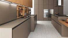 ZAMPIERI CUCINE, Model AXIS 012, design Stefano Cavazzana