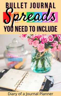 Make the most of your bullet journal with these life-changing spreads that everyone should include! #bulletjournalspreads #bulletjournalideas #bulletjournalcollection #bujo #planneraddict Bullet Journal How To Start A, Bullet Journal Spread, Bullet Journals, Bullet Journal Layout Templates, Bullet Journal Printables, Planner Ideas, Life Changing, Printable Planner, Getting Organized