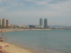 Jane Easthope  Barcelona Beach