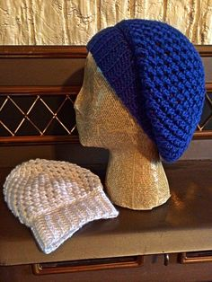More crocheted slouch hats! Love these!