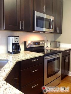 1000+ ideas about Espresso Kitchen Cabinets on Pinterest | Espresso Kitchen, Kitchen Cabinets and Espresso Cabinets
