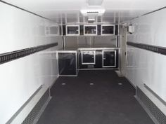 race ready package on 24' enclosed carhauler