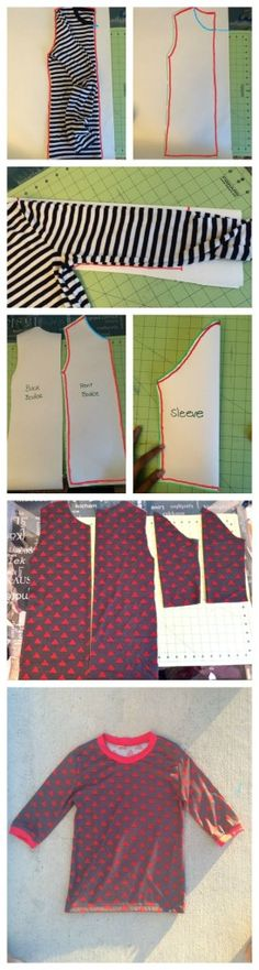 Make your own clothes: How to draft your own pattern #sewingpattern