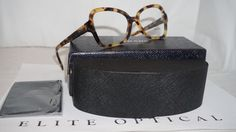 New Authentic Prada RX Yellow Havana PR25SV 7S01O1 51 135 | Health & Beauty, Vision Care, Eyeglass Frames | eBay!