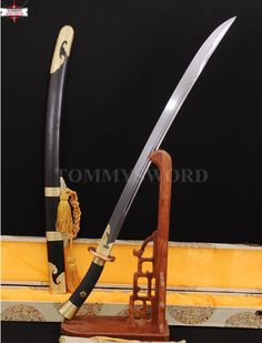 This is the Ming Dynasty Liuyedao sword, one of the most well rounded blades in human history. Not to be mistaken with the more slash-centric Katana, the Liuyedao was invented by the Chinese biased on their previous swords designs from the preceding Tang and Song dynasties while including Mongolian and Turkic influences into the design. Made with Chinese and Mongolian folding steel, it is as tough if not tougher than any Japanese blade, while including a anti corrosive coding to prevent...