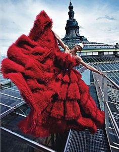 'Paris Mon Amour' By Mario Sorrenti For Vogue Paris August 2012