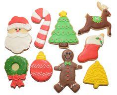Galletitas creativas Navidad 2012
