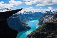 Noruega. Paisagens bárbaras e refrescantes!