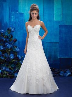 Allure Bridals 9420  Allure Bridal Best Bridal, Prom, and Pageant gowns in Delaware