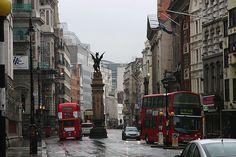 Rainy Day, London, England    photo via mortality