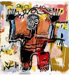 """I don't think about art when I'm working. I try to think about life."" — Jean-Michel Basquiat"