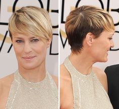 Robin Wright -- Stunning At The 2014 Golden Globes
