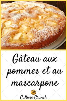 dessert recipes easy no bake Apple Recipes Easy, Easy No Bake Desserts, Desserts For A Crowd, Fancy Desserts, Köstliche Desserts, Delicious Desserts, Recipe Using Apples, Mascarpone Recipes, Mascarpone Cake
