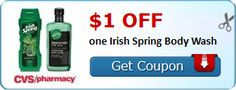 New Coupon!  $1.00 off one Irish Spring Body Wash - http://www.stacyssavings.com/new-coupon-1-00-off-one-irish-spring-body-wash/