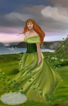 Eriu She is the matron Goddess of Ireland and daughter of Ernmas of the Tuatha Dé Danann. With her sisters, Banba and Fódla, she was part of an important triumvirate of goddesses.