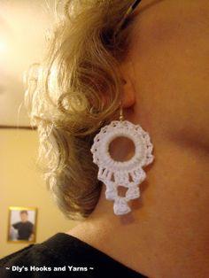 pure joy earrings ~ free pattern