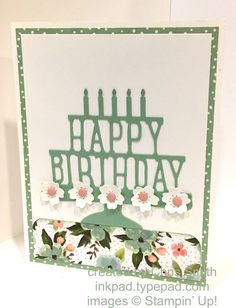 So today I'm sharing both a Birthday Bouquet card and my Botanical Bundle swap card.