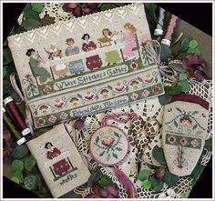 The Victoria Sampler - Where stitchers gather.  My friend Yvonne has made this, it's on my list