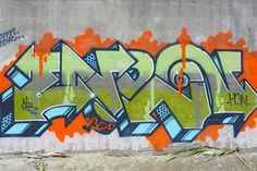 Hey, that's different. We like what's going on with this new Enron piece, located somewhere in the jungle of Oakland.
