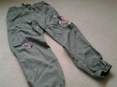 e1a0c4e7 My new embroidered cargos.....Thank you Next xx. Michelle Walker · cargo  pants