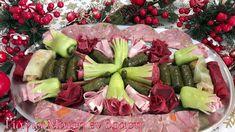 Αλμυρό μενού Πρωτοχρονιάς Fruit Salad, Cobb Salad, Tuna, Acai Bowl, Fish, Meat, Breakfast, Acai Berry Bowl