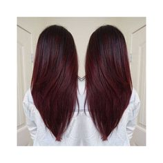 Dark shadow root into a deep red/violet #haircolor. PERFECT for some #winterfeels :snowflake: #middletownsalon #redhair #newhair