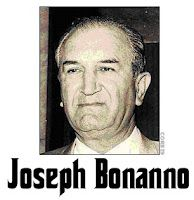 """Joseph """"Joey Bannanas"""" Bannano arrived in the United States from Castellammare del Golfa, Italy, and got involved with the Brooklyn Mafia. In 1931, Bonnano with Gagliano, Luciano, Mangano and Profaci was involved with Salvatore Marazano, the """"capo di tutti capi"""" (supreme head) in reorganizing the Sicilian sydndicate into what is currently termed the Cosa Nostra. He became one of the five New York Mafia families."""