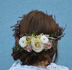 bella retro flower crown by sophie and luna | notonthehighstreet.com