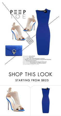"""""""peep toe"""" by lulubelle1972 ❤ liked on Polyvore featuring Giuseppe Zanotti and Victoria Beckham"""