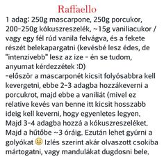 Raffaello Sweets, Words, Raffaello, Gummi Candy, Candy, Goodies, Horse, Treats, Deserts
