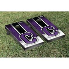 Victory Tailgate Cornell College Rams Cornhole Game Set, Purple