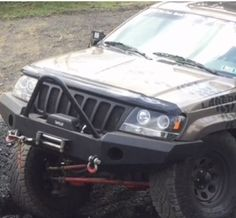 Jeep Grand Cherokee WJ Winch Front 1999-04 Stinger Bumper | eBay Motors, Parts & Accessories, Car & Truck Parts | eBay! Jeep Grand Cherokee Limited, Jeep Stuff, Truck Parts, Motors, Trucks, Car, Accessories, Automobile, Truck