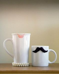 Cute couple cups