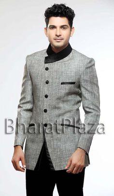 Debonair Look Reception Suit. Item code: TSJ4094 https://twitter.com/bharatplaza_in  https://www.facebook.com/bharatplazaindianbridal