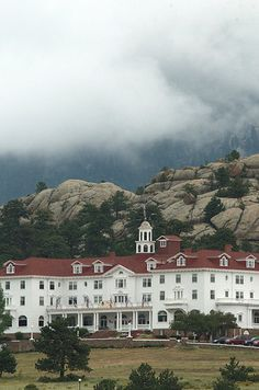 The Stanley Hotel in Estes Park Colorado - Been to Estes Park and inside the Stanley, but I've never stayed there and I'd like to some day :)