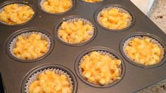 There's a better way to eat mac & cheese. Check out this recipe for Mac & cheese muffins for a delicious and inexpensive snack.