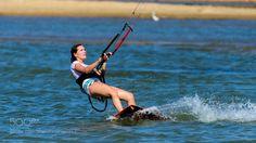#sport Female Kite Surfer in Kalpitiya Sri Lanka by sandambandara #picture http://ift.tt/2j8Uys9