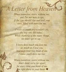 Image result for poems about passing away