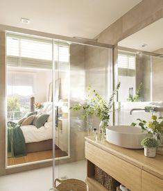Back to origin Spas, One Kings Lane, Summer Bedroom, Rustic Bathrooms, Bathroom Design Small, Design Studio, Living Room Interior, House Tours, Sweet Home