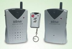 """EasyAlarms Wireless infra red """"Tripwire"""" beam burglar alarm security system with remote control by EasyAlarms. $64.99. The Safety Beam creates an invisible infrared barrier between objects - or people. If that barrier is crossed, an alarm is sounded. It can be used indoors or outdoors. The beam can span a distance of up to 60 feet, and users can choose between a loud alarm or a """"friendly"""" chime for intruder notification. Its great to guard your drive way/ pets/of..."""