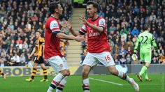 Hull City 0 Arsenal 3 - Good to have the boys back!