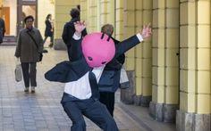 Zagreb Film Festival's maskote #lobagolabnb #travelerschoice2015 #zagreb #diary