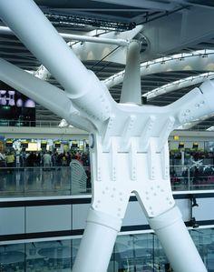 Structural Detail Heathrow Airport Terminal 5