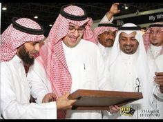 زيارة الامير نواف بن فيصل لجناحي اتي سبورت في معرض الرياضة السعودي