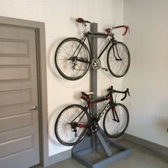 a no drilling free standing vertical bike stand perfect. Black Bedroom Furniture Sets. Home Design Ideas