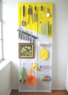 Here I am sharing you ten furniture upcycling ideas for a kitchen space. In this post, you are going find some of the coolest DIY ideas related to kitchen space optimizations Kitchen Utensil Organization, Kitchen Organization, Organization Hacks, Kitchen Storage, Kitchen Decor, Kitchen Ideas, Kitchen Utensils, Wardrobe Organisation, Decorating Kitchen